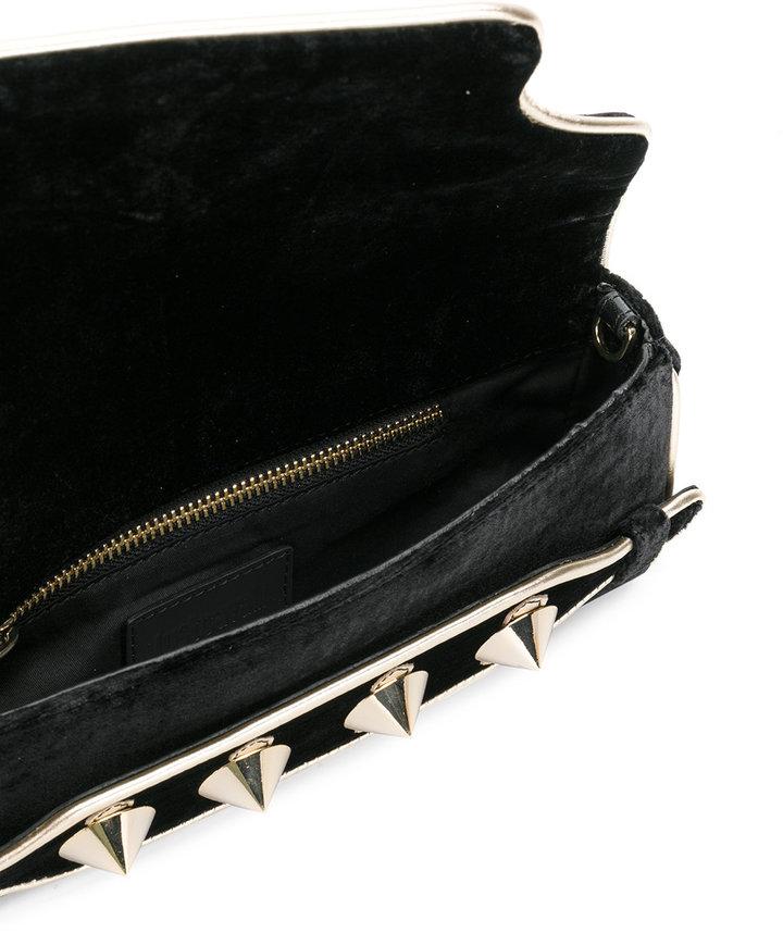 Just Cavalli studded clutch
