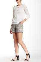 L.A.M.B. Plaid Linen Short