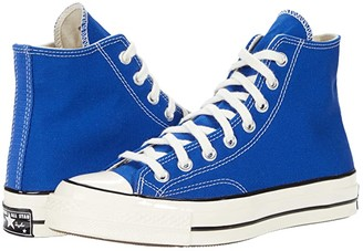 Converse Chuck 70 Organic Canvas Hi (Rush Blue/Egret/Black) Athletic Shoes