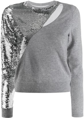 RtA Sequin-Embellished Jumper