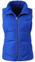 Lands' End Women's Petite Down Vest-Squash
