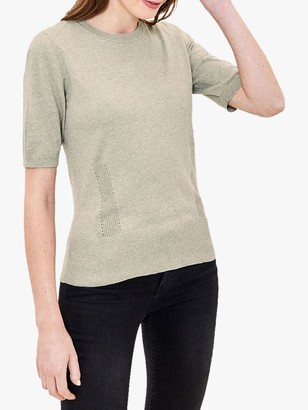 Oasis Pointelle Knit Top