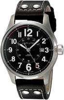 Hamilton Men's H70615733 Khaki Officer Dial Watch