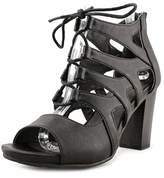 White Mountain Danby Open-toe Synthetic Heels.