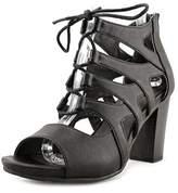 White Mountain Danby Women Open-toe Synthetic Black Heels.