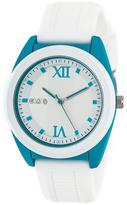 Crayo Praise Collection CRACR3601 Tonneau-Shaped Cerulean Analog Watch