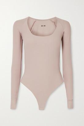 Alix Sullivan Stretch-jersey Thong Bodysuit - Gray
