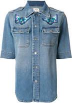 Zadig & Voltaire Tex denim shirt