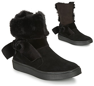 Catimini CECILINE girls's Mid Boots in Black