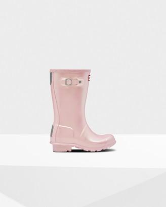 Hunter Original Big Kids Nebula Rain Boots