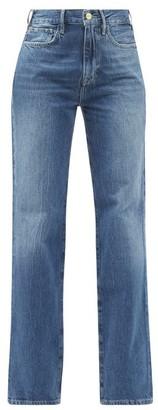 Frame Le Jane Straight-leg Jeans - Denim