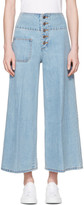 Marc Jacobs Indigo Wide-Leg Jeans