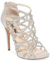 INC International Concepts Women's Sharee High Heel Rhinestone Evening Sandals, Created for Macy's