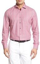 Bobby Jones Men's 'Clifford' Regular Fit Long Sleeve Plaid Sport Shirt