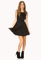Forever 21 Dainty Lace A-Line Dress