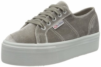 Superga Women's 2790-VELVETJPW Oxford Flat