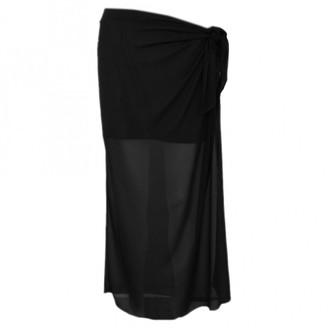 Maison Margiela Grey Wool Skirt for Women