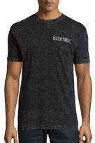 Affliction Printed Textured Tee