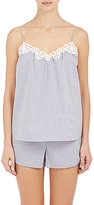 Stella McCartney WOMEN'S MARIE STRETCH COTTON-BLEND SKIPPING CAMISOLE