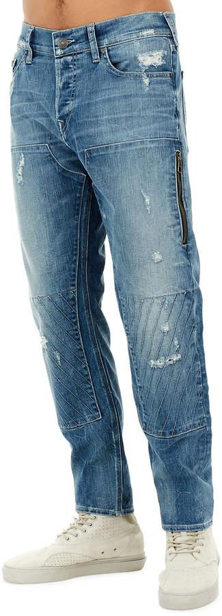 726b71e21de True Religion Blue Men's Distressed Jeans - ShopStyle