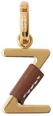 Burberry leather-wrapped 'Z' charm