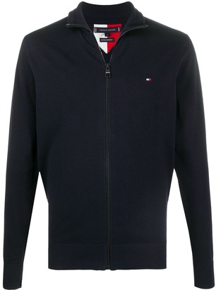 Tommy Hilfiger Zip-Up Fine-Knit Jacket