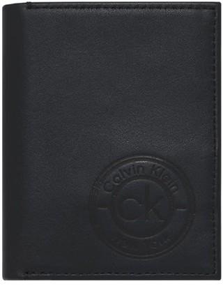 Calvin Klein Black Vertical Wallet