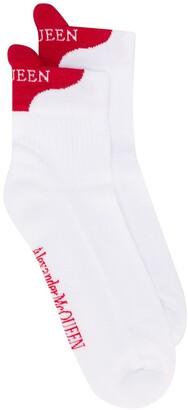 Alexander McQueen Signature Socks