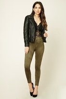 Forever 21 FOREVER 21+ Faux Suede Leggings