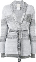 Stephan Schneider Cry belted cardigan - women - Cotton/Wool - XS