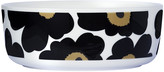 Marimekko Unikko Bowl - White/Black/Green - Large