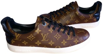 Louis Vuitton Frontrow Brown Cloth Trainers