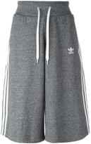 adidas three stripe culotte shorts