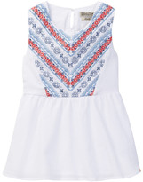 Lucky Brand Embroidered Tank Top (Big Girls)