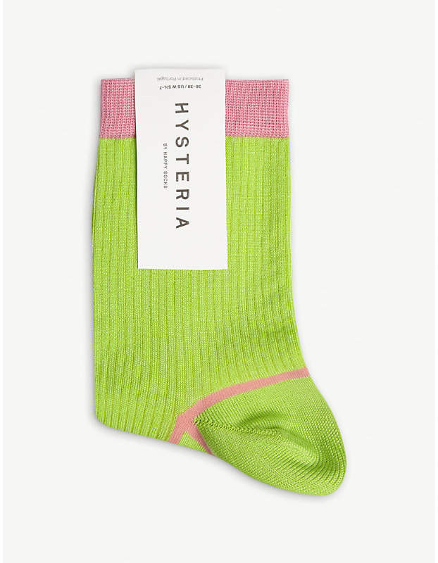 Hysteria By Happy Socks Cotton-blend Lily ankle socks