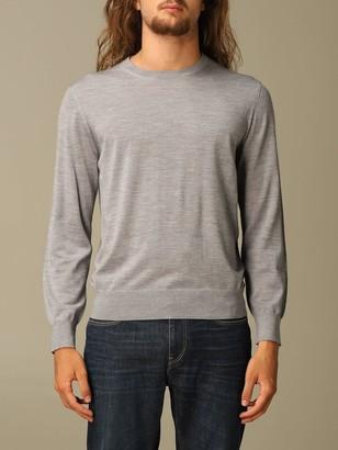 Ermenegildo Zegna Sweater Long-sleeved Merino Wool Sweater