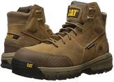 Caterpillar Device Waterproof Composite Safety Toe (Dark Beige) Men's Work Lace-up Boots