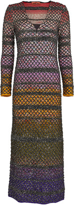 Missoni Knit Lurex Midi Dress