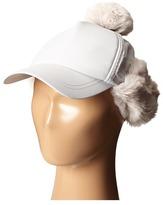 Stella McCartney Bird Baseball Cap with Pom Pom Baseball Caps
