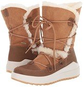 Cougar Tacoma Waterproof (Tan Leather/Shearling) Women's Cold Weather Boots