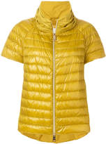 Herno short sleeves puffer jacket