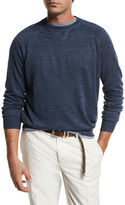 Brunello Cucinelli Linen-Cotton Raglan Sweatshirt