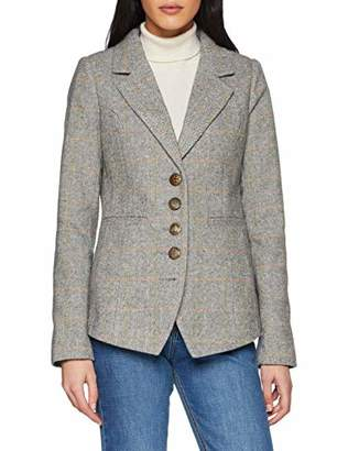 Joe Browns Women's Remarkable Riding Jacket Suit, Grey (A-Grey Multi (Size:)