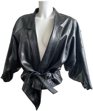 Jitrois Black Leather Leather jackets