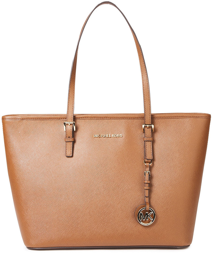 MICHAEL Michael Kors Textured-leather Tote