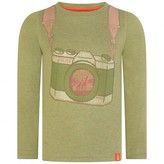 Oilily OililyBoys Green Camera Print Top