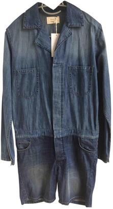 BA&SH Blue Denim - Jeans Jumpsuits