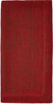 Deborah Rhodes Holiday Reversible Linen Napkin
