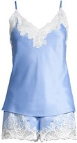 Natori Plume Bridal 2-Piece Camisole & Shorts Set