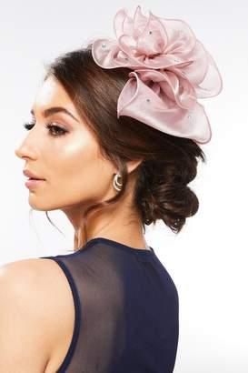 Quiz Mauve Floral Jewel Headband Fascinator